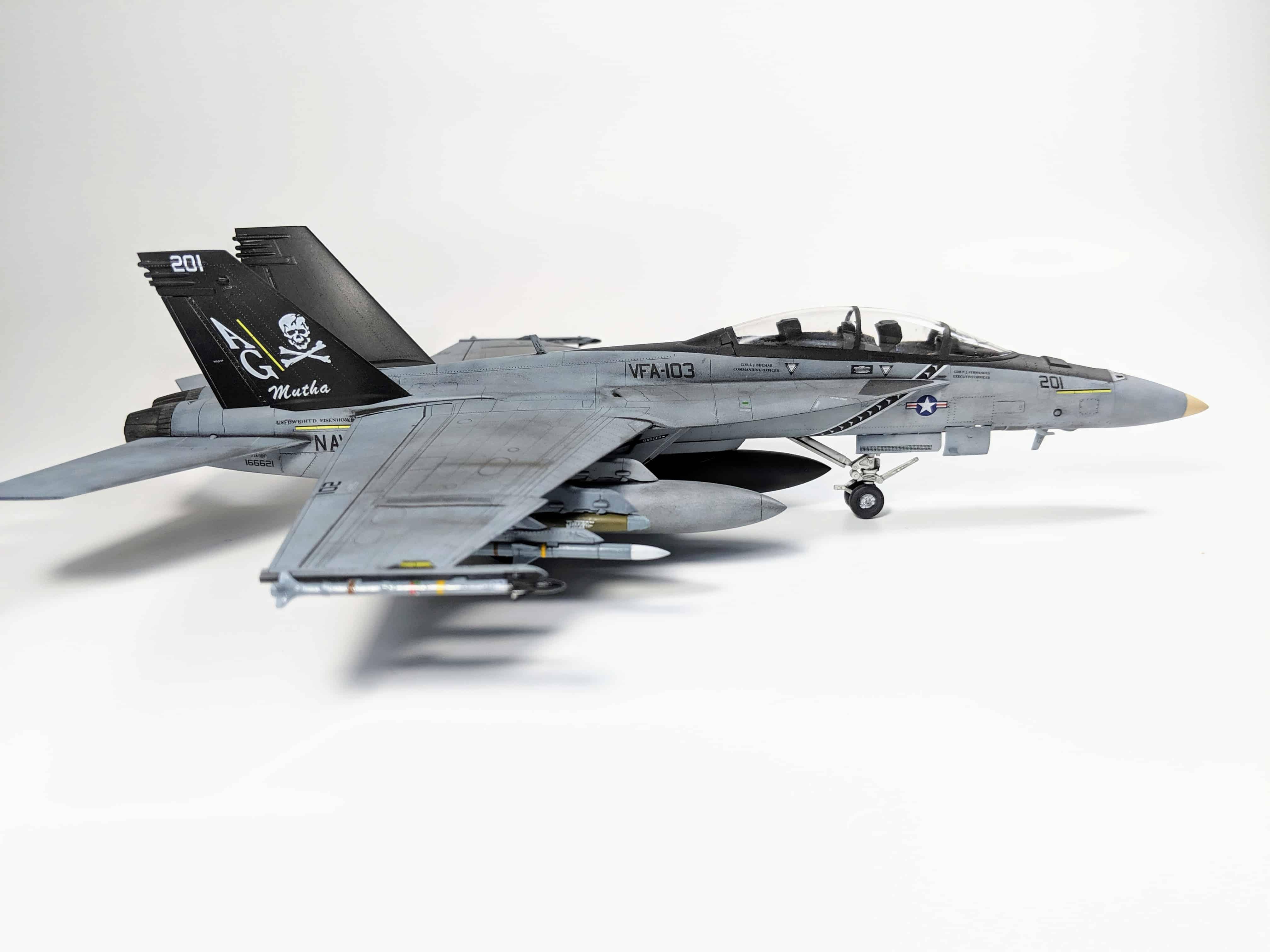 Academy F/A-18F Super Hornet