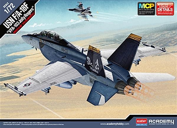Academy F/A-18F Boxart