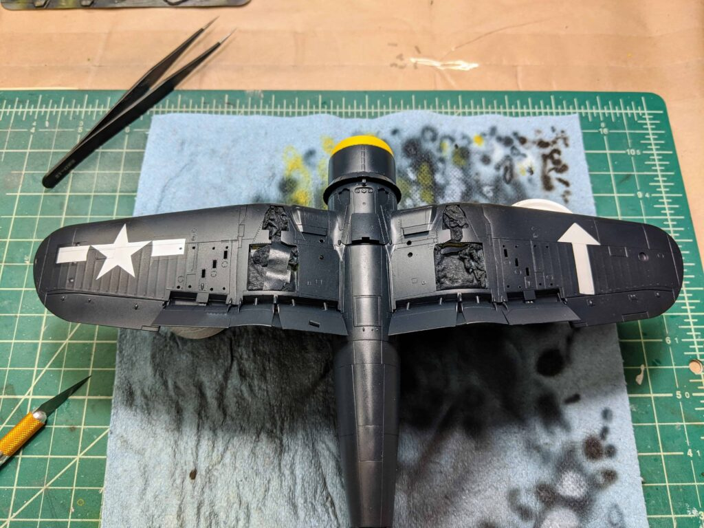 Tamiya F4U-1D Underside