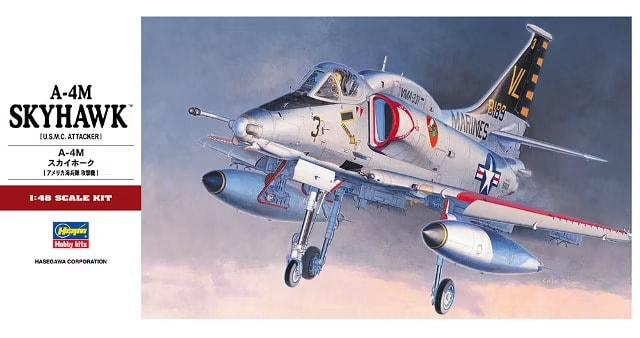 Hasegawa A-4M Skyhawk Box Art
