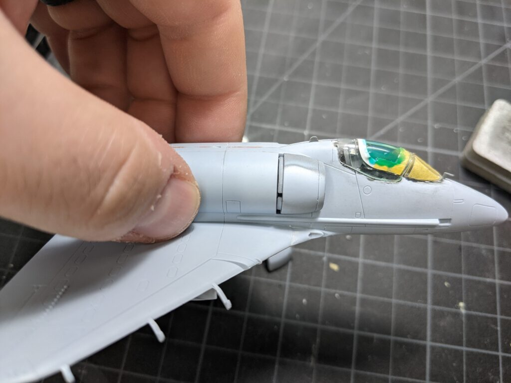 Airfix A-4B Skyhawk Intake Attachment