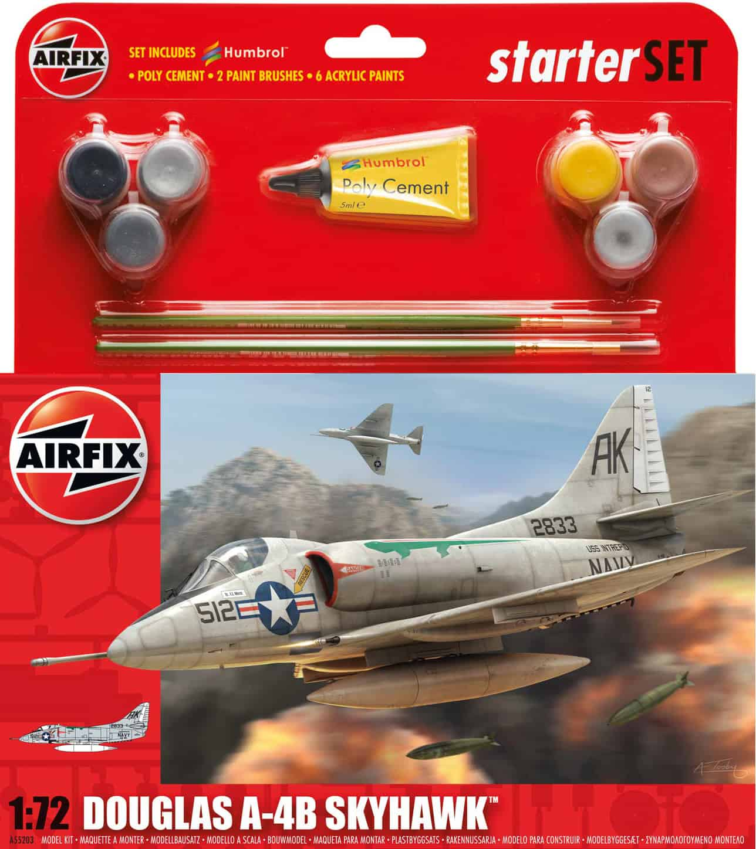 Airfix Skyhawk Starter Set