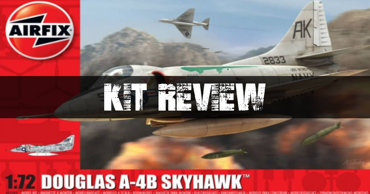 Airfix A-4B Skyhawk Box Art