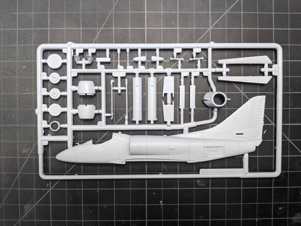 Airfix Skyhawk Sprues