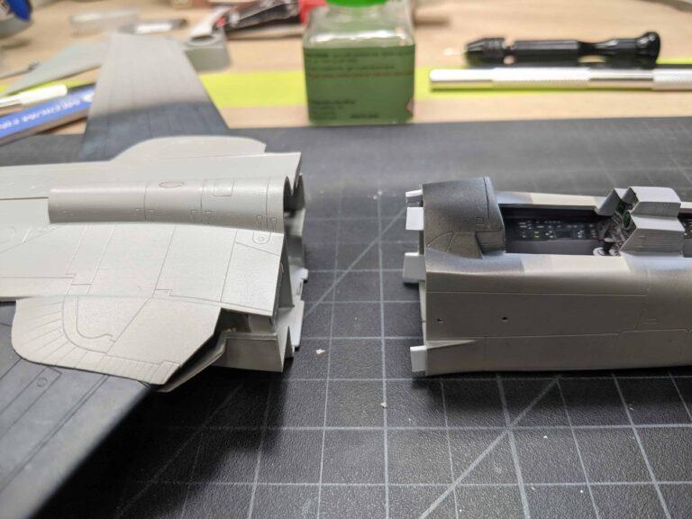 Pre installed fuselage