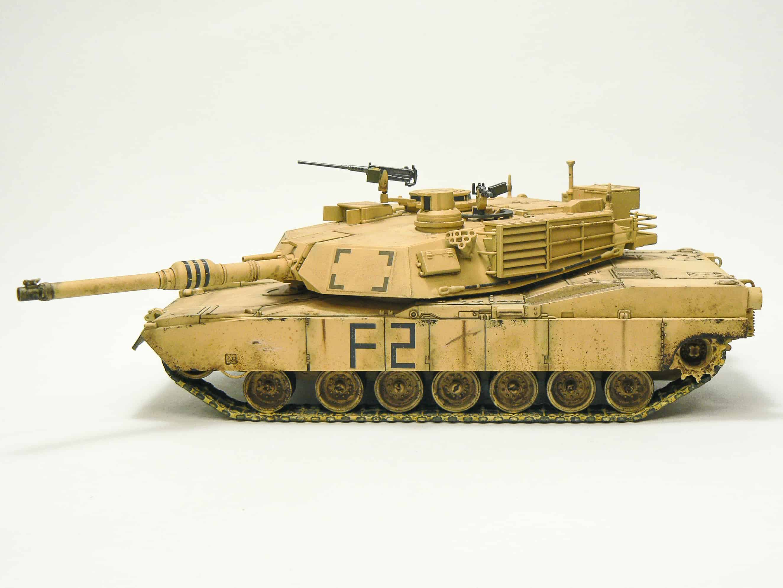 Tamiya M1A2 Abrams Tank