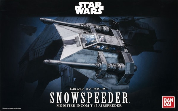 Bandai Snowspeeder Box Art